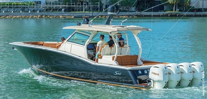 Scout Boats, USA - AIREX® T92, BALTEK® SB